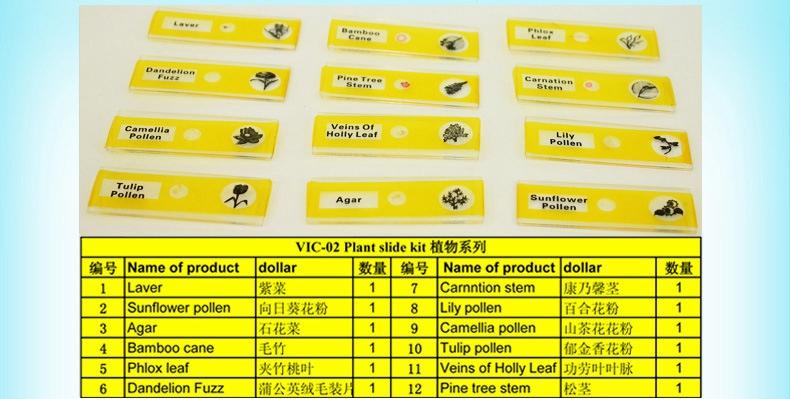 贵州质量显微镜生物玻片「维克科教供」