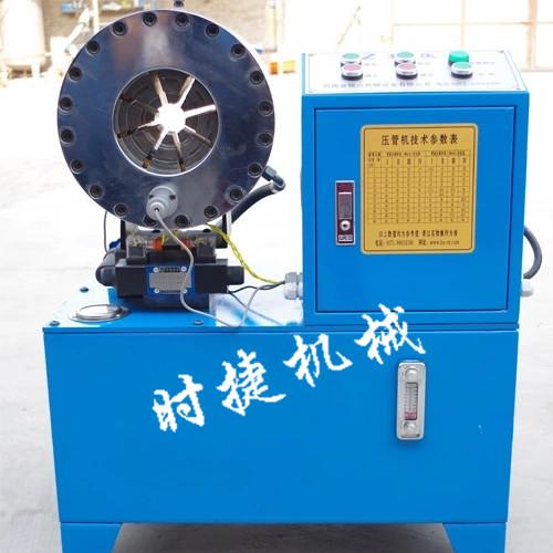 吉林市2019新款钢管缩口机 钢管压套筒机