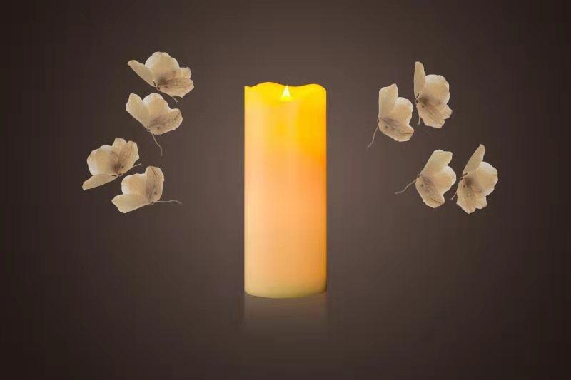 广东LED石蜡仿真蜡烛 其志供应