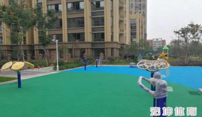 黄山健身塑胶施工厂家「宏坤供应」