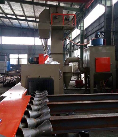 广西钢管抛丸机厂家供应,钢管抛丸机