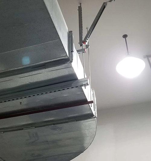 湖南風管抗震支架制造廠家 固威供應
