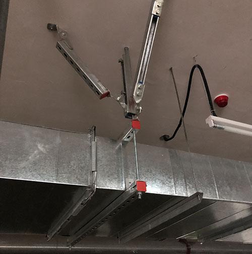 專用風管抗震支架優質商家 固威供應