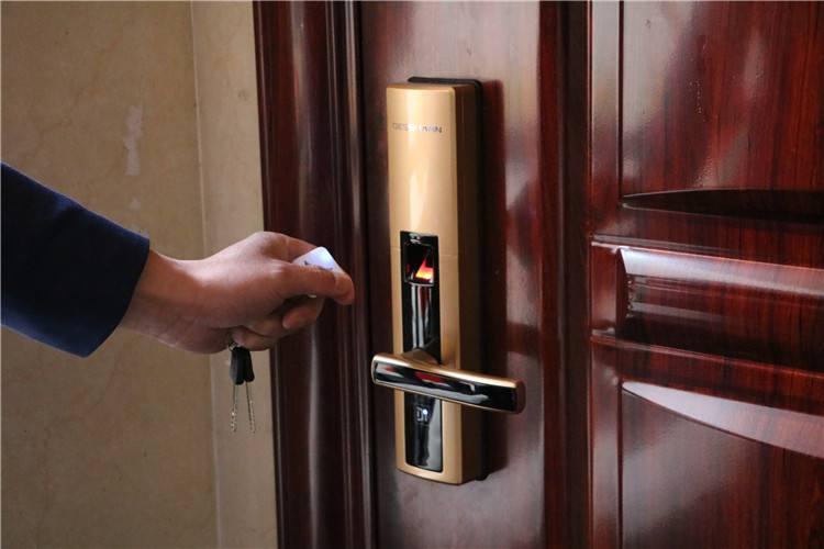 郑州安装指纹锁芯公司,锁