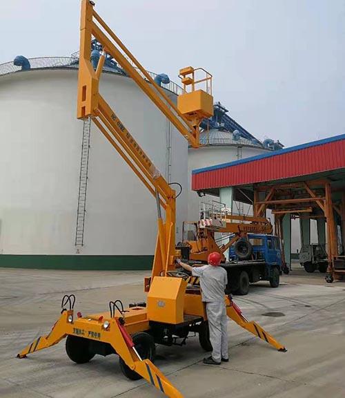 吉林曲臂式升降机厂家价格 卓钢升降机械供应