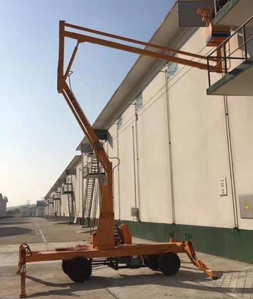 贵州电动曲臂式升降机 卓钢升降机械供应