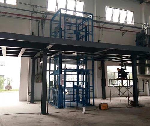 天津导轨式升降机品牌企业 卓钢升降机械供应