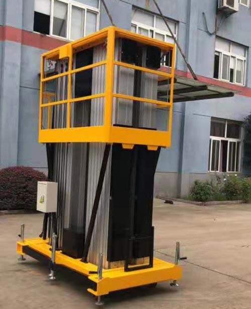 浙江手摇式铝合金升降机 卓钢升降机械供应