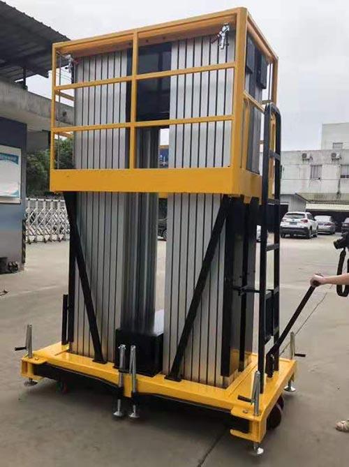新疆铝合金升降机厂家直销 卓钢升降机械供应