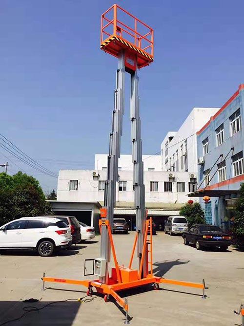 广西铝合金升降机销售厂家 卓钢升降机械供应
