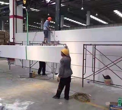 上海ALC安装现场推荐厂家 柯天供应