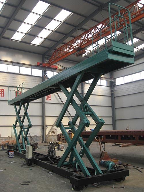上海大型固定液壓升降臺 托普供應