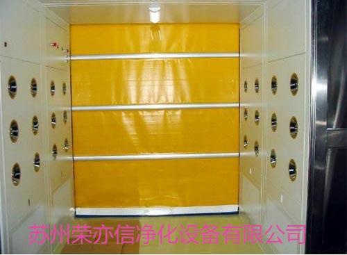 北京PVC快速卷帘门货淋室生产厂家 荣亦信供应