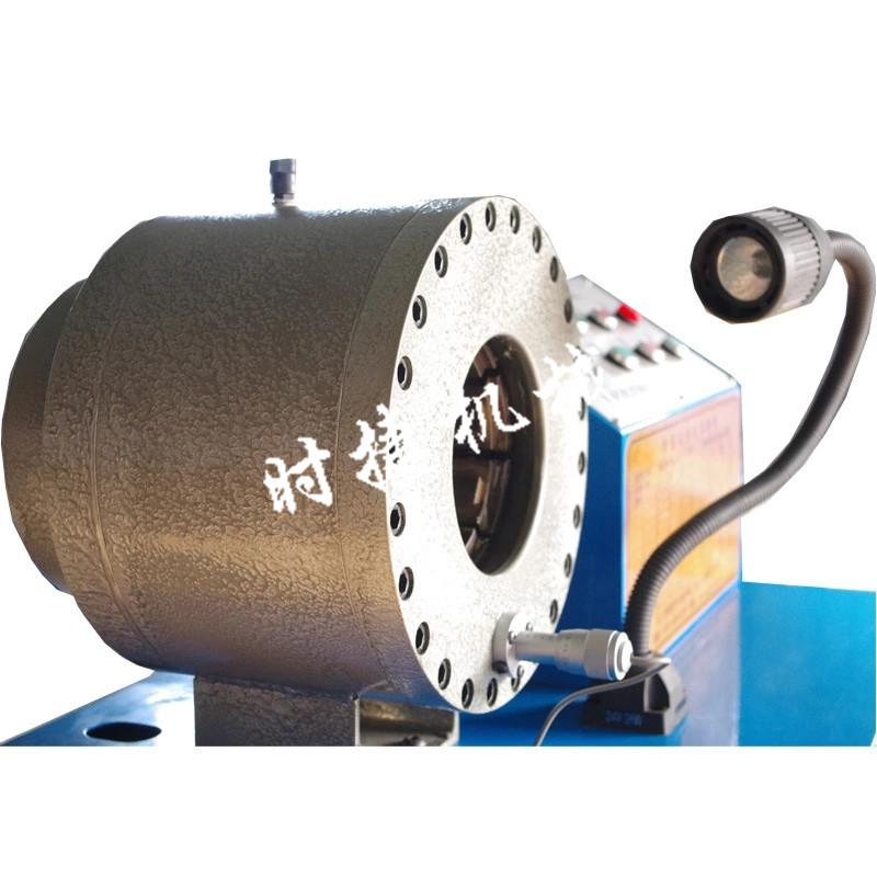 广西钢管扣压机 工地压套管机器 时捷供应