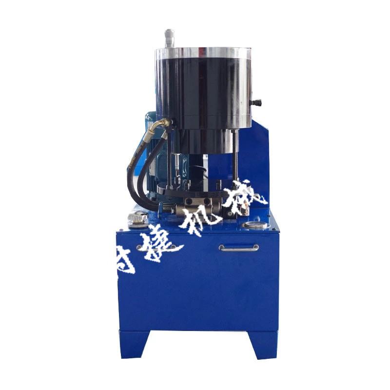 贵州钢管缩管机 钢管压套筒机 时捷供应