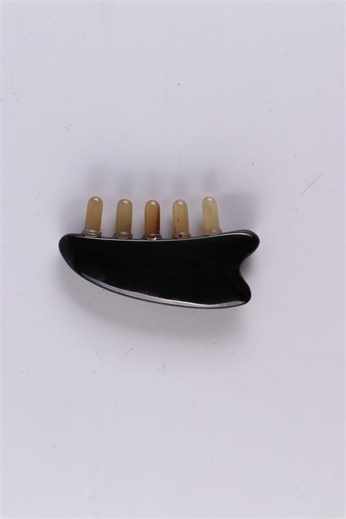 黑水牛角多功能羊珠按摩梳报价,黑水牛角多功能羊珠按摩梳