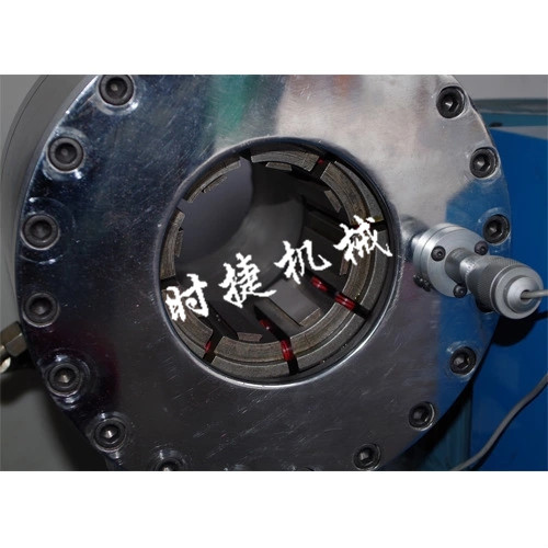 陕西压建筑缩管机 钢管压管机 时捷供应