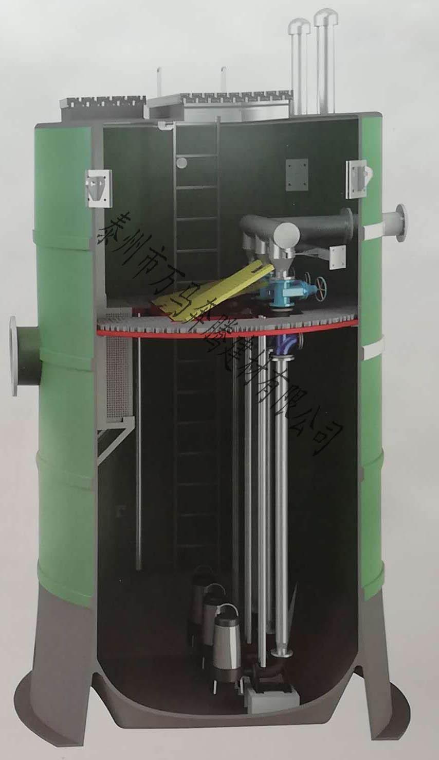 泰州一体化污水提升泵站厂家报价,一体化污水提升泵站