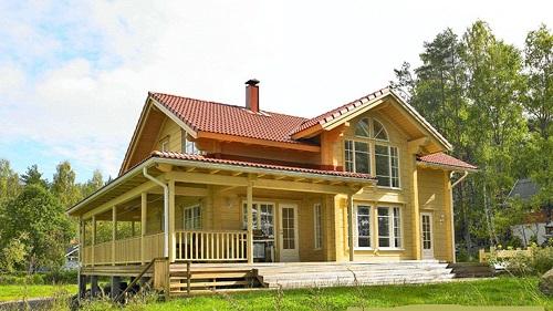 博山区平顶防腐木木屋的制作,防腐木木屋