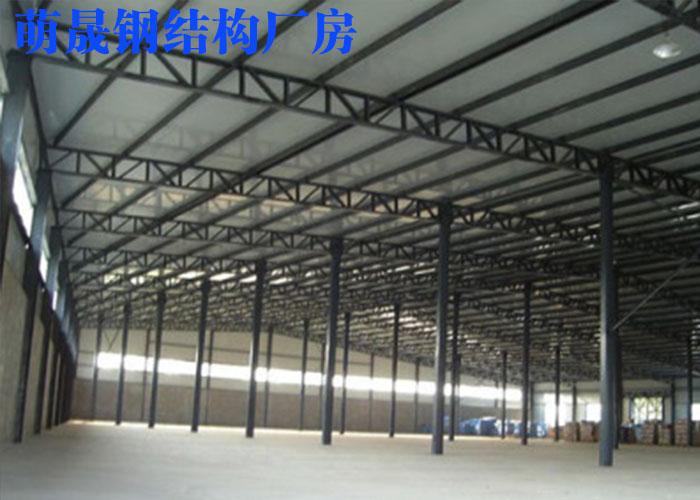河南大型钢结构厂房 萌晟供应