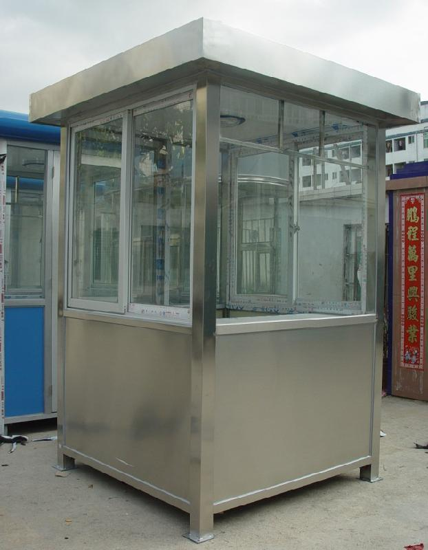 内蒙古自动不锈钢岗亭厂家亚博百家乐 欢迎咨询 内蒙古三丰环保工程亚博百家乐
