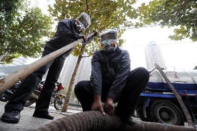 惠州三栋家庭化粪池清理电话 惠州市惠城区家洁疏通供应
