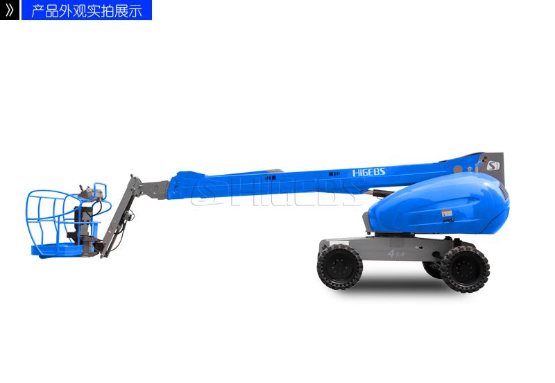 湖北直臂曲臂式高空作业平台车报价 诚信服务 基柯供应