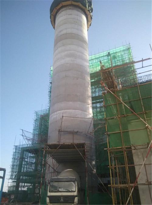 连云港烟囱新建工程,烟囱新建