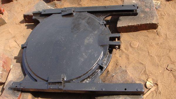 湖南泵站铸铁闸门 华远供应
