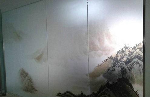 東莞玻璃磨砂膜廠家直銷 誠信經營 惠州市歐尚林隔熱工程供應