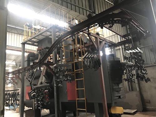 上海悬链抛丸机厂家直供,悬链抛丸机