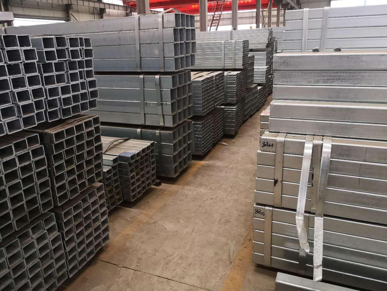 江苏40*80*3.0热镀锌方管经销商 南京企畅建材供应