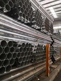 江苏南京碳钢镀锌管提供商 南京企畅建材供应