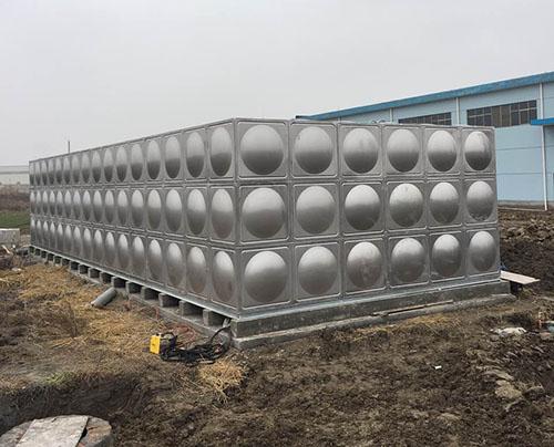 金华方形不锈钢水箱价格 鸿迪供应