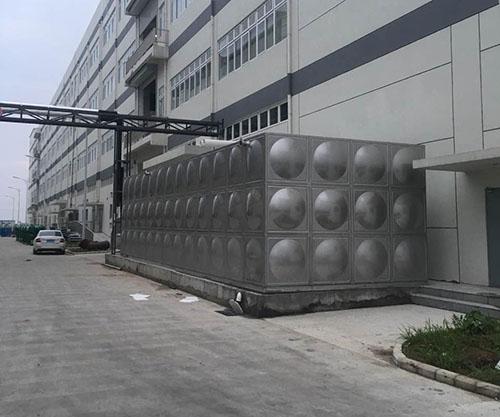温州圆柱形不锈钢水箱厂家 鸿迪供应