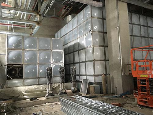 嘉兴圆柱形不锈钢水箱采购 鸿迪供应