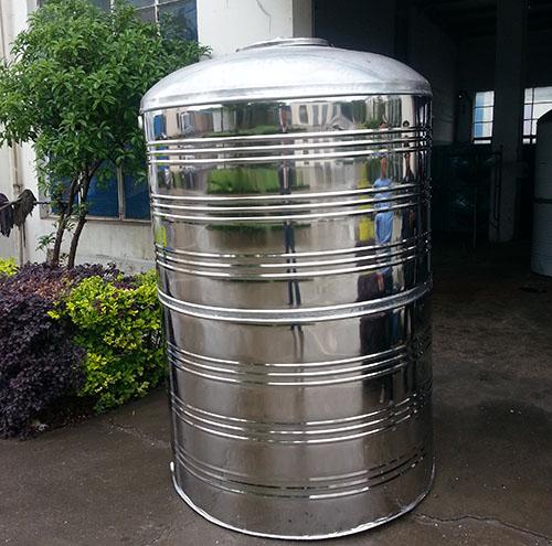 宁波圆柱形不锈钢水箱供应 鸿迪供应