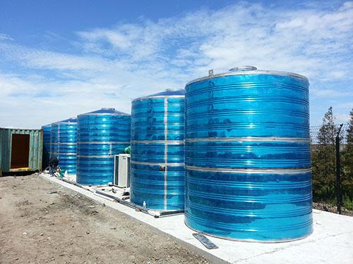 金华圆柱形不锈钢保温水箱厂家 鸿迪供应
