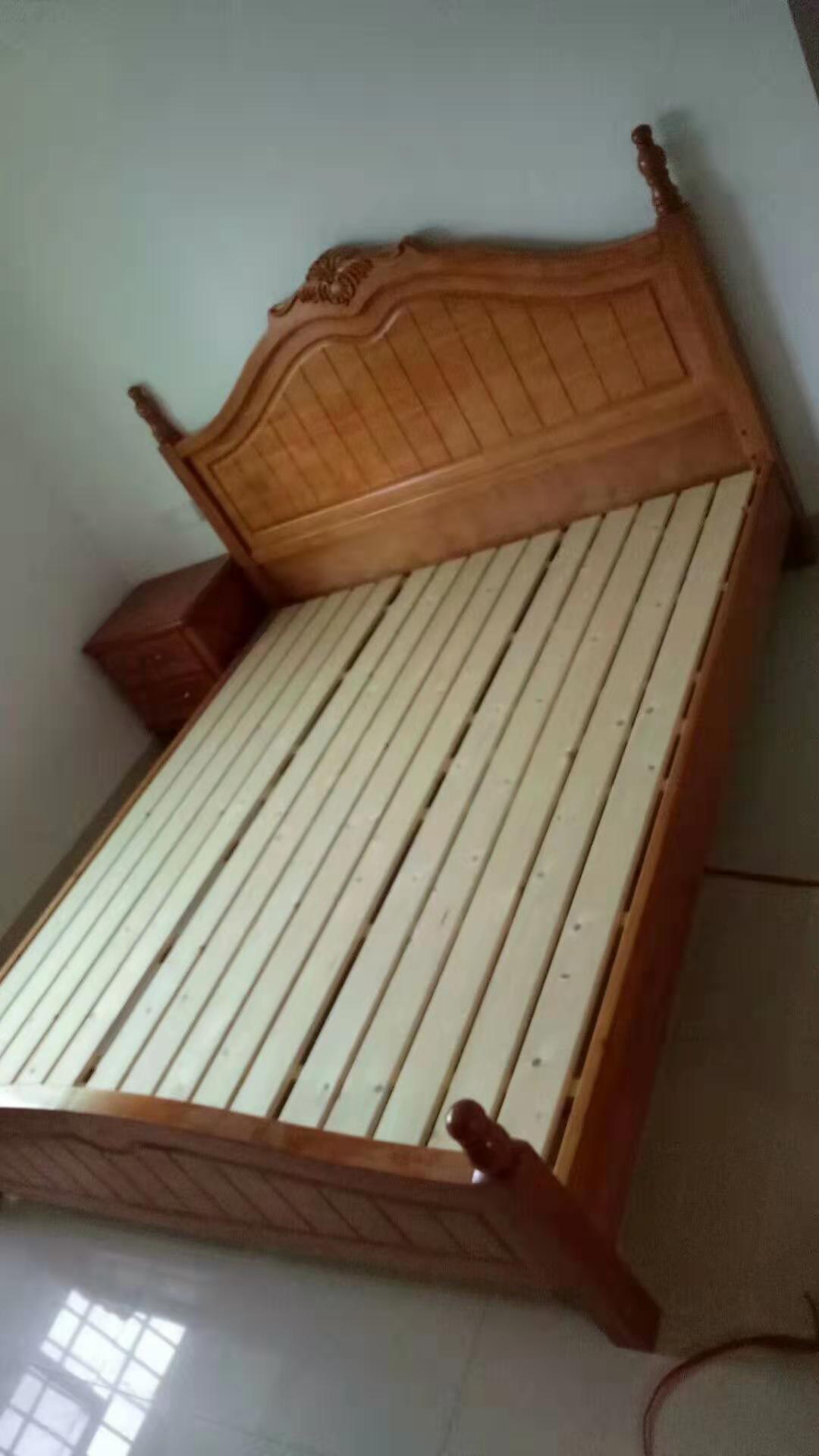 中式木质床厂家直销 厦门曾庆应家具供应