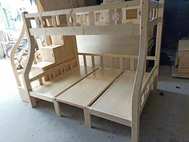 中式木床定做 厦门曾庆应家具供应