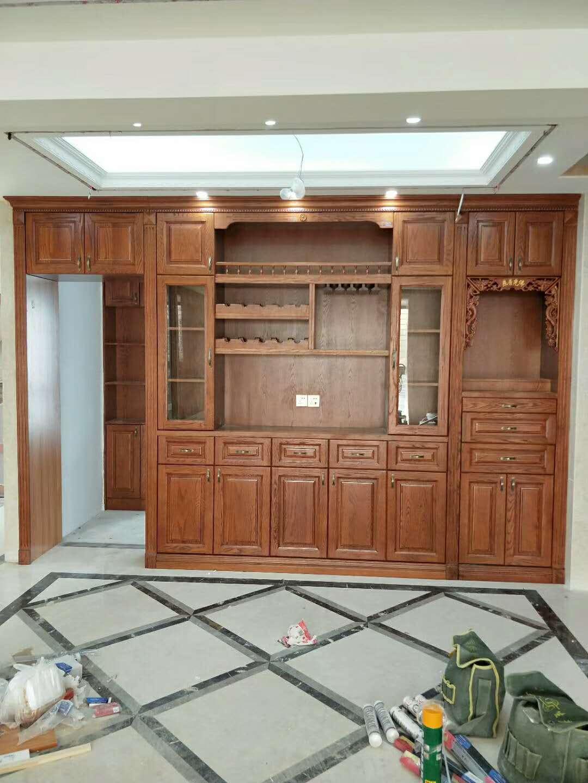 木质展示柜定制 厦门曾庆应家具供应
