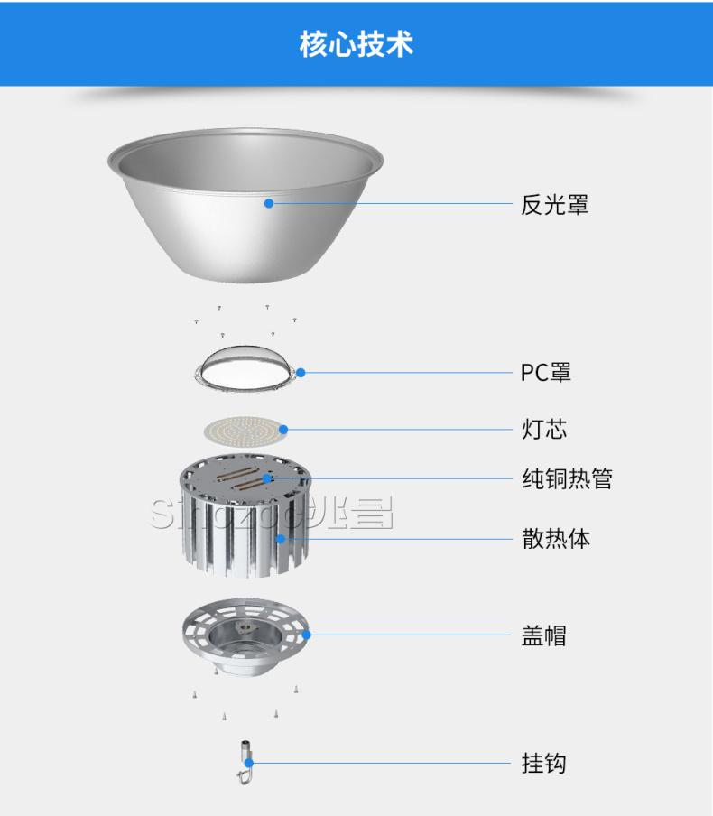 内蒙古LED工矿灯 兆昌供应