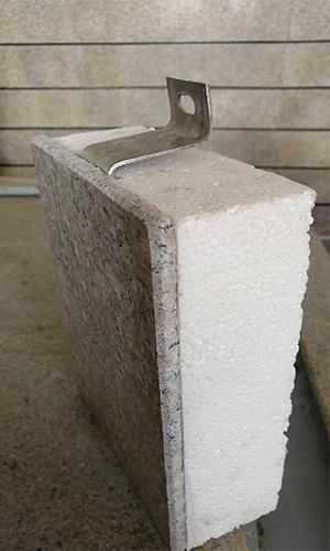 淄博复合石材一体板订做 淄博文超外墙保温板供应