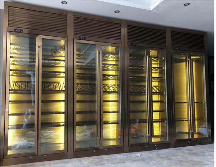 上海厂家直销恒温酒柜生产厂家 值得信赖 佛山梦奇源金属制品供应