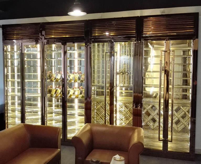 上海专业恒温酒柜多少钱 欢迎咨询 佛山梦奇源金属制品供应