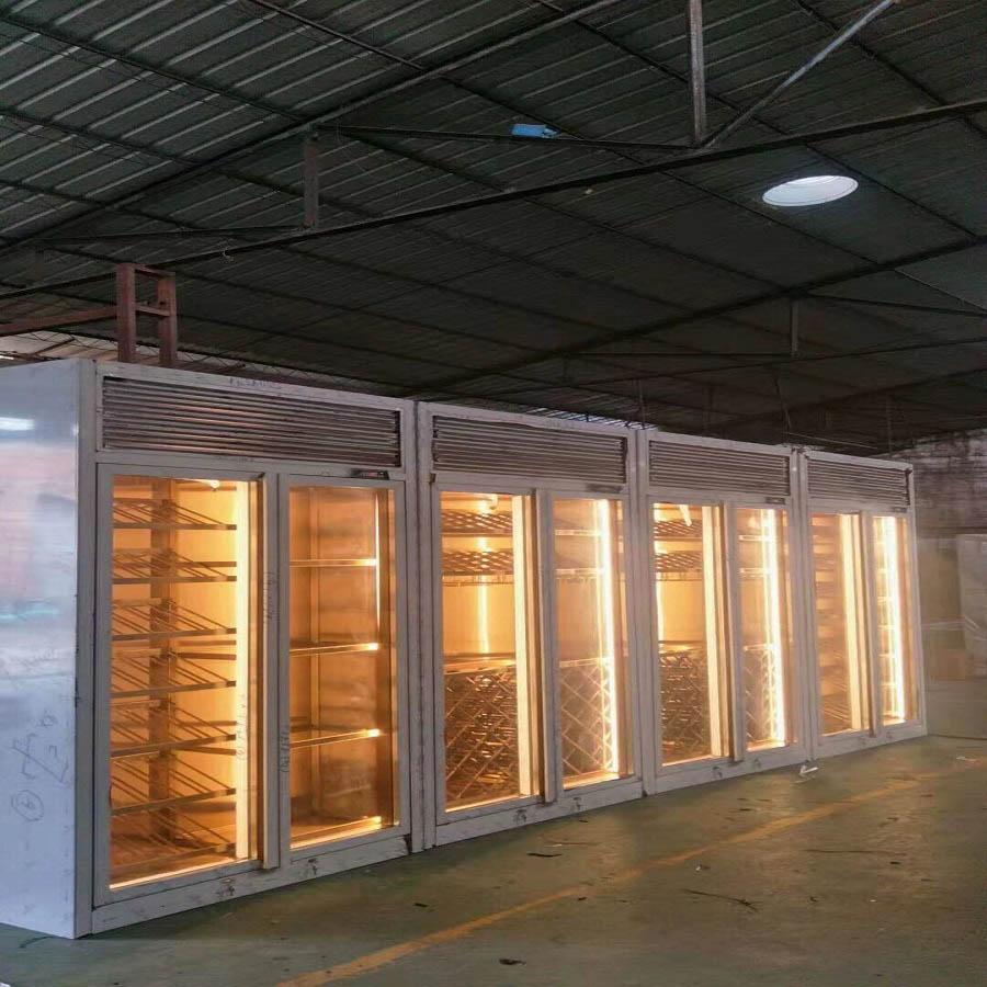 上海十年专注恒温酒柜加工 值得信赖 佛山梦奇源金属制品供应