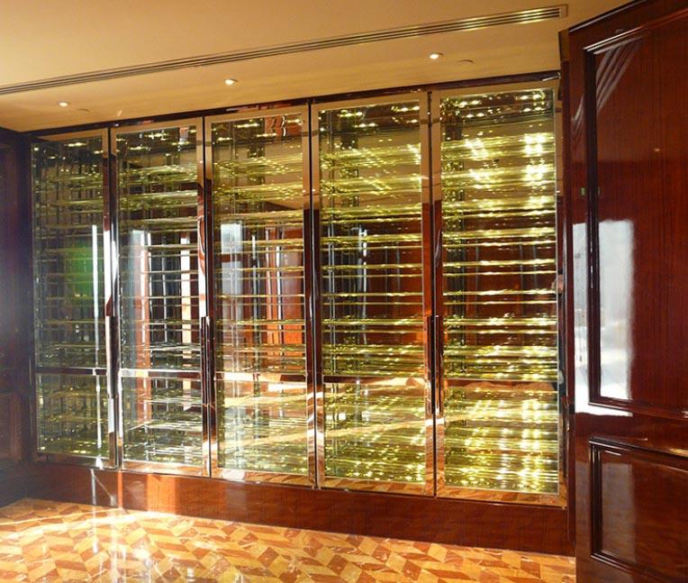 广西酒架定制 信誉保证 佛山梦奇源金属制品供应