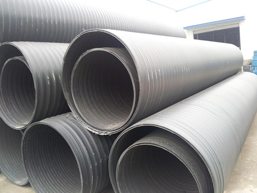 hdpe双平壁塑钢缠绕管厂家 厦门金宏明新材料科技供应