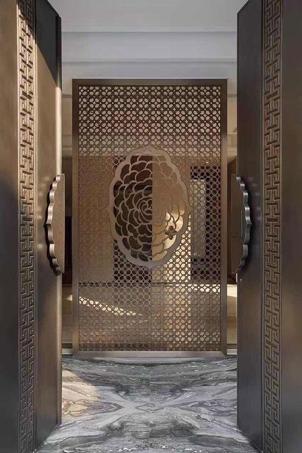 上海专业铝雕屏风厂 创新服务 佛山梦奇源金属制品供应