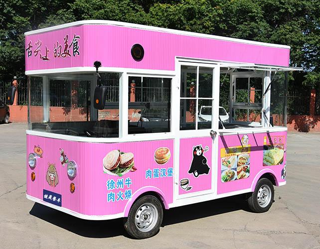 时尚流动车设计「河南健晟新能源餐车供应」